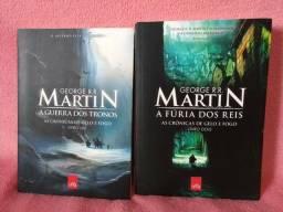 As crônicas de gelo e fogo livro 1 e 2