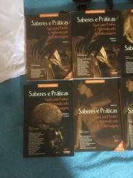 Coleção de livros saberes e práticas