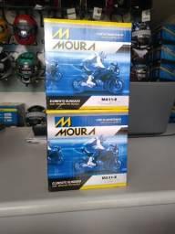 Bateria moura para motos XJ6 -MA11-E ou fazer600 com entrega em todo rio!
