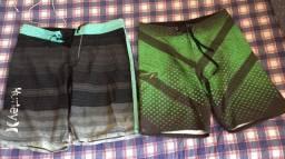 """Body shorts """"hurley , greenish e pena"""""""