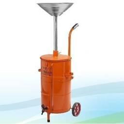 Coletor de óleo reservatório de 50 litros ck50vr pikilub