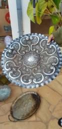 Bandejas metal comprar usado  Piracicaba