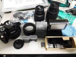 Nikon 5100, Lente 55-200 e Diversos Acessórios comprar usado  São Paulo