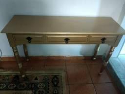 Um lindo aparador antigo em madeira maciça Imbuia Dourado comprar usado  São Paulo