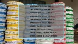 Cabinhos eletricos e cabos de aluminio e fios solidos comprar usado  4 Barras