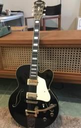 Guitarra Ibanez AF75 TDG Semi Acústica Preta