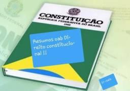 Resumos direito constitucional