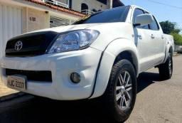 Hilux cabine dupla 2.5 4x4 turbo diesel completa financio sem entrada pesquise menor preço - 2009
