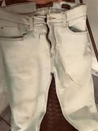 Calça jeans clara masc