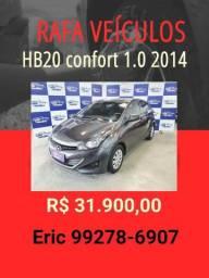 HB20 comfort 1.0 2014 R$ 31.900,00 - Rafa Veiculos Eric -trp3