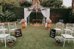 Chácara para casamentos e 15 anos