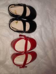 Vendo sapatinho Bibi e pimpolho novos