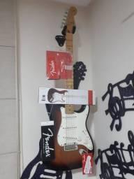 Guitarra Fender Stratocaster Player Serie Mex - Avalio troca Violão Martin ou Taylor