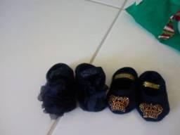 Sapatilhas meia bebê