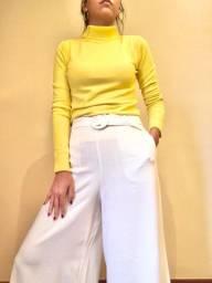 Blusa Tricot amarelo