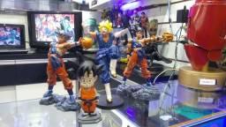 Bonecos Dragon Ball de resina