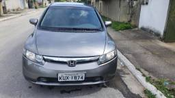 Honda Civic LXS 1.8 Aut + Som Automotivo + Rodas Aro 20 TSW