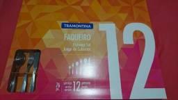Faqueiro Tramontina 76 peças NOVO