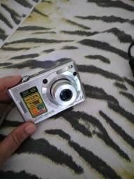 Câmera Sony Cyber-shot Dsc-w55 7.2mp 2,8-5,2/6,3-18,9, muito bem conservada