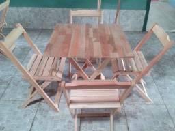 Mesas e Cadeiras Dobraveis - Litoral
