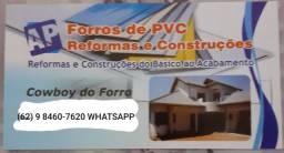 Forros PVC / REFORMAS E CONSTRUÇÕES
