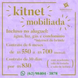 Kitnets para alugar, sem condomínio e mobiliado