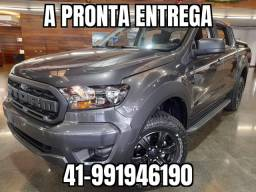 "Ranger Cd XLS 3.2 Storm 4x4 Automatica Diesel 2020/21 0km ""Pronta entrega Cinza"""