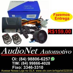 Alarme Para Carro Fks Universal Fk902 Plus 2 Controles Com Sirene Veicular