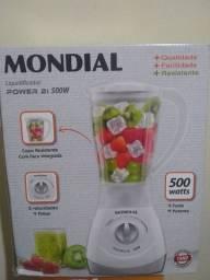 Liquidificador Power 2i 500W MONDIAL, novo na caixa
