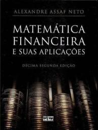 Oportunidade Única!!! Excelente Livro de Matemática Financeira - Super Novo - Ed. 2012