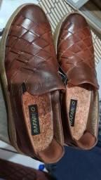 Sapato Rafarillo novo. Couro legítimo.