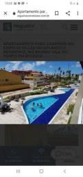 MW cód  1008  apartamento  Praia de Porto 2 quartos