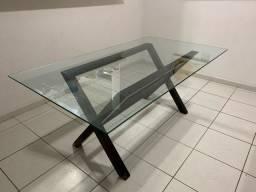Tampo de vidro temperado 1,80x1,00