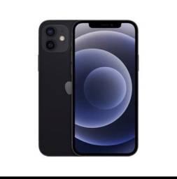 iPhone 12 64gb - PRETO- menos preço  do OLX