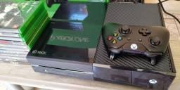 Xbox one 500gb semi-novo/troco por ps4/aceito cartão