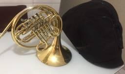 Trompa Dupla Afinação Fa/sib dourada king