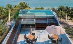 Venha morar na beira mar de praia formosa - 2 e 3 quartos, elevador e lazer na cobertura