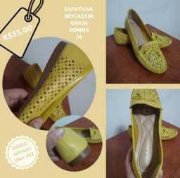 Sapato Mocassim tamanho 36