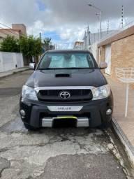 Toyota Hilux cd 4x4 srv preta