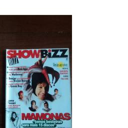 Revista Show Bizz Edição 125 Mamonas Assassinas Com Pôster Robert Plant & Jimmy Page