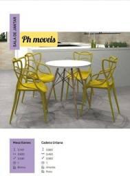 Mesa eames com 4 cadeiras urbana* * * *