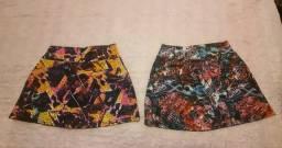 Kit 2 shorts saia Tam.P