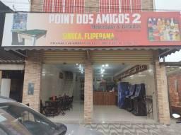 Título do anúncio: ARRENDO PONTO COMERCIAL NOVO, DOIS ANDARES TOP em São Vicente. + 2 MESAS DE SINUCA NOVA <br>