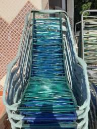 Cadeiras fibra sintéticas