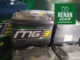 Bateria 100ah caminhão 12 meses garantia