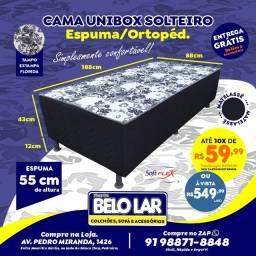 Cama Solteiro unibox, Compre no zap