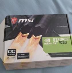 Título do anúncio: Placa de vídeo MSI Nvidea Geforce GT1030 2gb