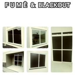 Título do anúncio: Fumê / blackout / Jateado / *!