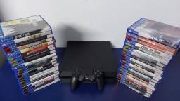 Playstation 4 Fat 500GB Semi Novo com garantia- Aceitamos PS3 mais volta