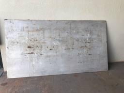 Chapa de alumínio